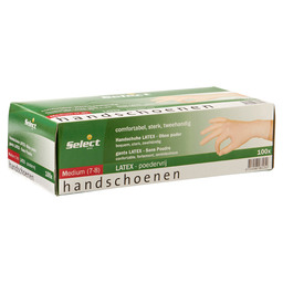 HANDSCHOEN LATEX PV WIT M SELECT