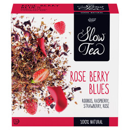 TEE ROSE BERRY BLUES PICKWICK SLOW TEA