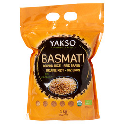 BASMATI RICE BROWN BIO