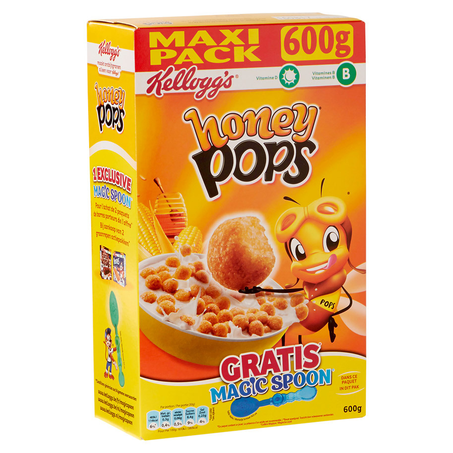 HONEY POPS KELLOGG'S