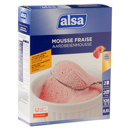 MOUSSE STRAWBERRY 72 L ALSA