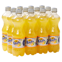 FANTA ORANGE ZERO 50CL PET FLES