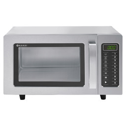 MICROWAVE PROGRAMMABLE SS 1000W 25L