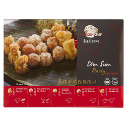 DIM SUM PARTY MIX FRITUREN/OVEN