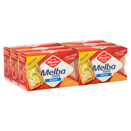 MELBA TOAST NATUREL 120GR