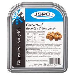 ICE-CREAM CARAMEL ISPC
