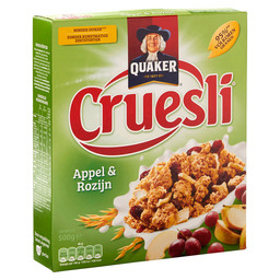 CRUESLI APPEL RAISIN
