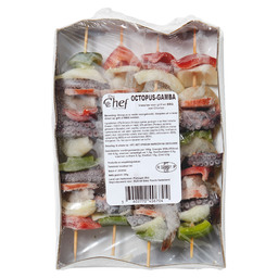 VIS SPIES OCTOPUS-CHORIZO-GAMBA 125GR