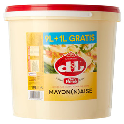 MAYONAISE EDITIE CHEF RENE 9+1L GRATIS