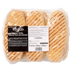 PANINI GRILLY NATUREL 80GR