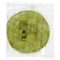 TORTILLA WRAP SPINAZIE 25 VERV. 41322150