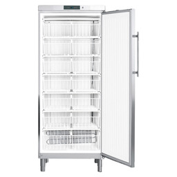 FRIDGE GG 5260-20 SS +WIRE BASKETS