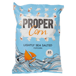 PROPERCORN POPCORN LIGHTLY SEA SALT