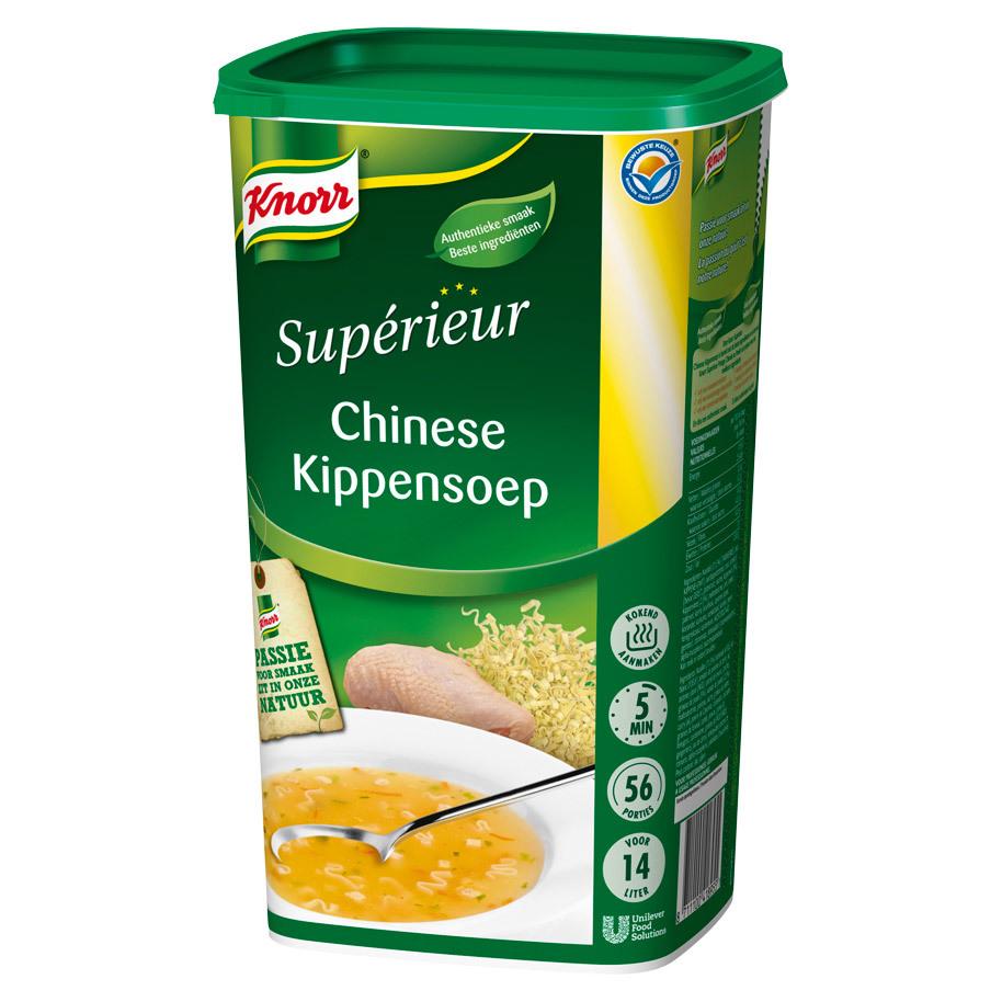 KIPPENSOEP CHINESE  SUPERIEUR INTERNAT.