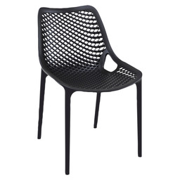 AIR CHAIR PVC BLACK