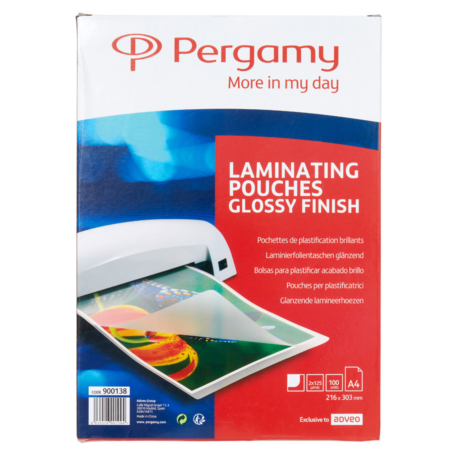 LAMINATING POUCH A4 250MIC