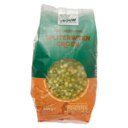 SPLIT PEAS GREEN