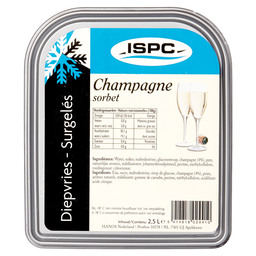SORBET CHAMPAGNE ISPC