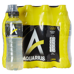 AQUARIUS LEMON 50CL PET