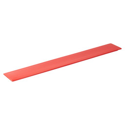 DISPLAY BOARD LONG RED 66X9,5X1,5CM