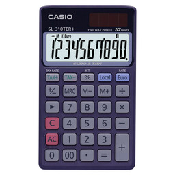 POCKET CALCULATOR CASIO SL310TER