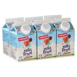 MILK & FRUIT AARDBEI/KERS 250ML