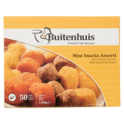 MINI SNACKS ASSORTI 4 SOORTEN