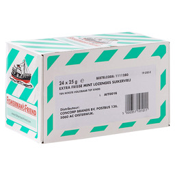 FISHERMAN'S FRIEND  GROEN STRONG MINT