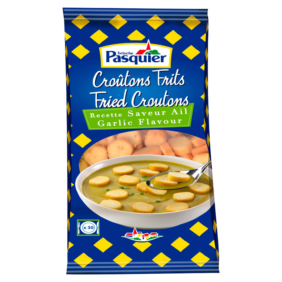 CROUTONS RONDS FRITS AIL 28MM