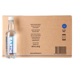 EARTH WATER STILL 50 CL PET LUXE