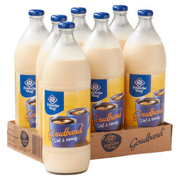 COFFEE MILK GOLD BAND 1 L BOTTLES