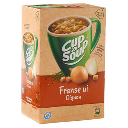 UIENSOEP FRANSE CUP A SOUP CATERING