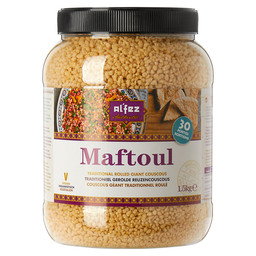 MAFTOUL,TRADITIONAL ROLLED GIANT COUSCOU