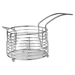 SNACK BASKET 7X11CM METAL WIRE