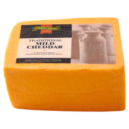 BLOCK CHEDDAR COLOURED 2,5KG