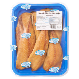 MACKEREL FILETS SMOKED NATURAL
