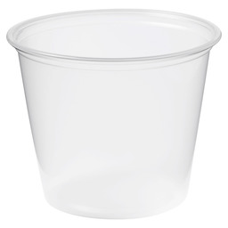 CUP PP 162CC 3-IN-1 TRANSPARANT