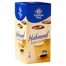 COFFEE MILK HALVAMEL CUPS 7.5 GR