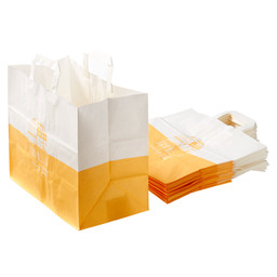 SNACK BAG COLOUR LARGE YELLOW