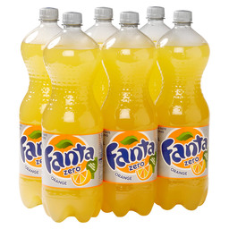 FANTA ZERO ORANGE 6X1.5L PET