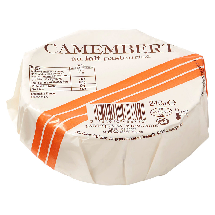 CAMEMBERT BAR ORANGE