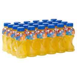 AQUARIUS ORANGE 33CL  PET FLES