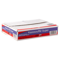 KAASSOUFFLE SUPER JUMBO 70GR 1/2 MAAN