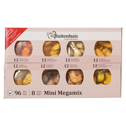 MEGA MIX MINI ASS.8 MINI SNACK 20GR.