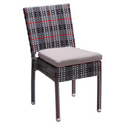 MEZZA CHAIR FREESTYLE RED - FLAT WEAVING