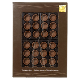 MINI TARTELET CACAO ROND 38MM