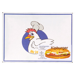 CHICKEN BURGER CRISPY MR. JOHN 90GR