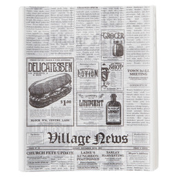FAT FREE PAPER PRINT NEWSPAPER 250X200MM