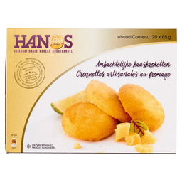 CHEESE CROQUETTES 20X65GR