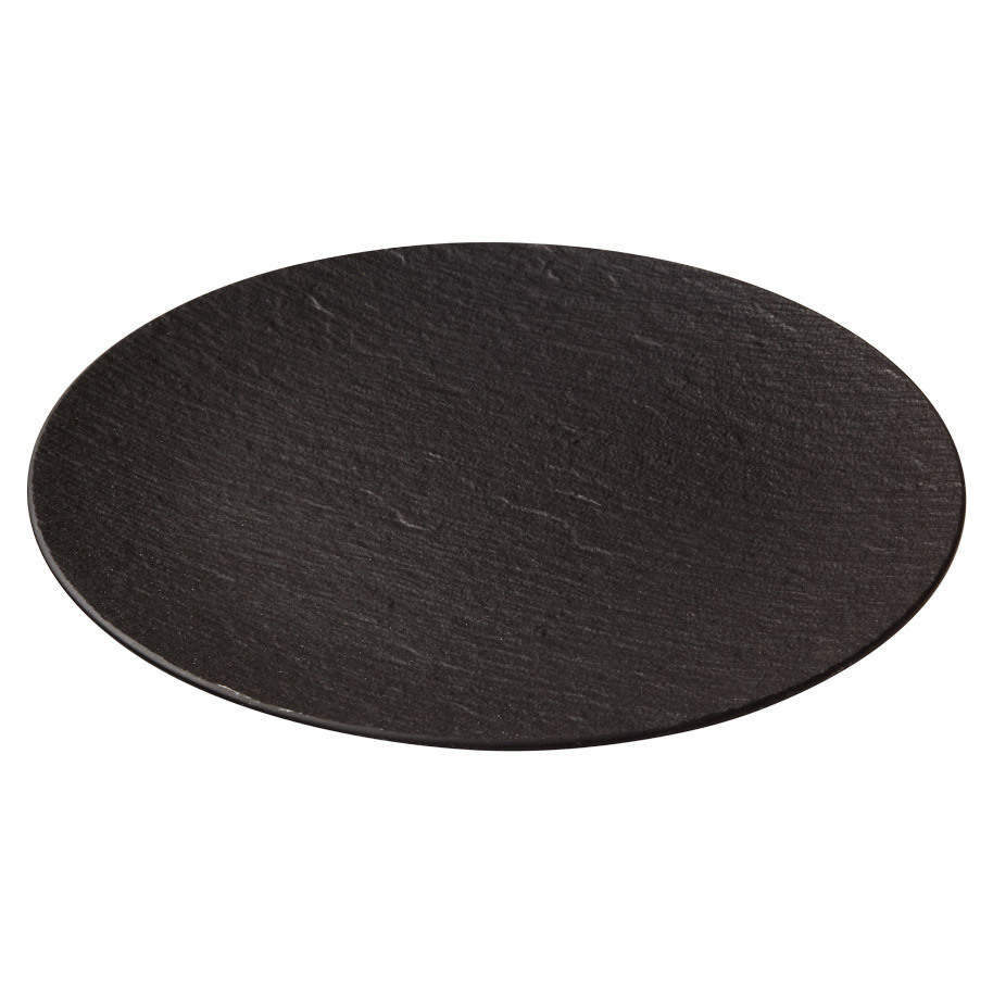 THE ROCK BLACK SHALE COUPE FLAT PLATE 32